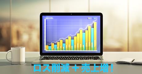 ロス削減+売上アップ